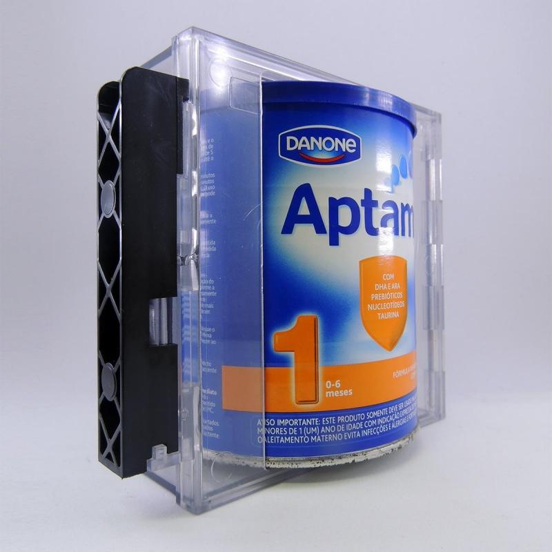 Protetores Acrílicos Antifurto e anti degustação