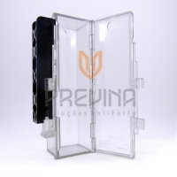 Protetor Acrílico para desodorante compacto e produtos diversos